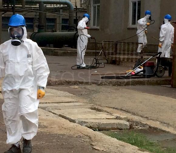 EUAŞ Ambarlı Santral Asbest Temizlik