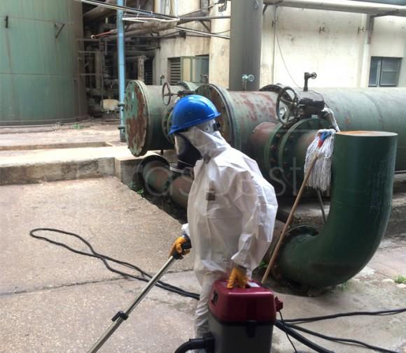 Güç Santrali Asbest Temizlik