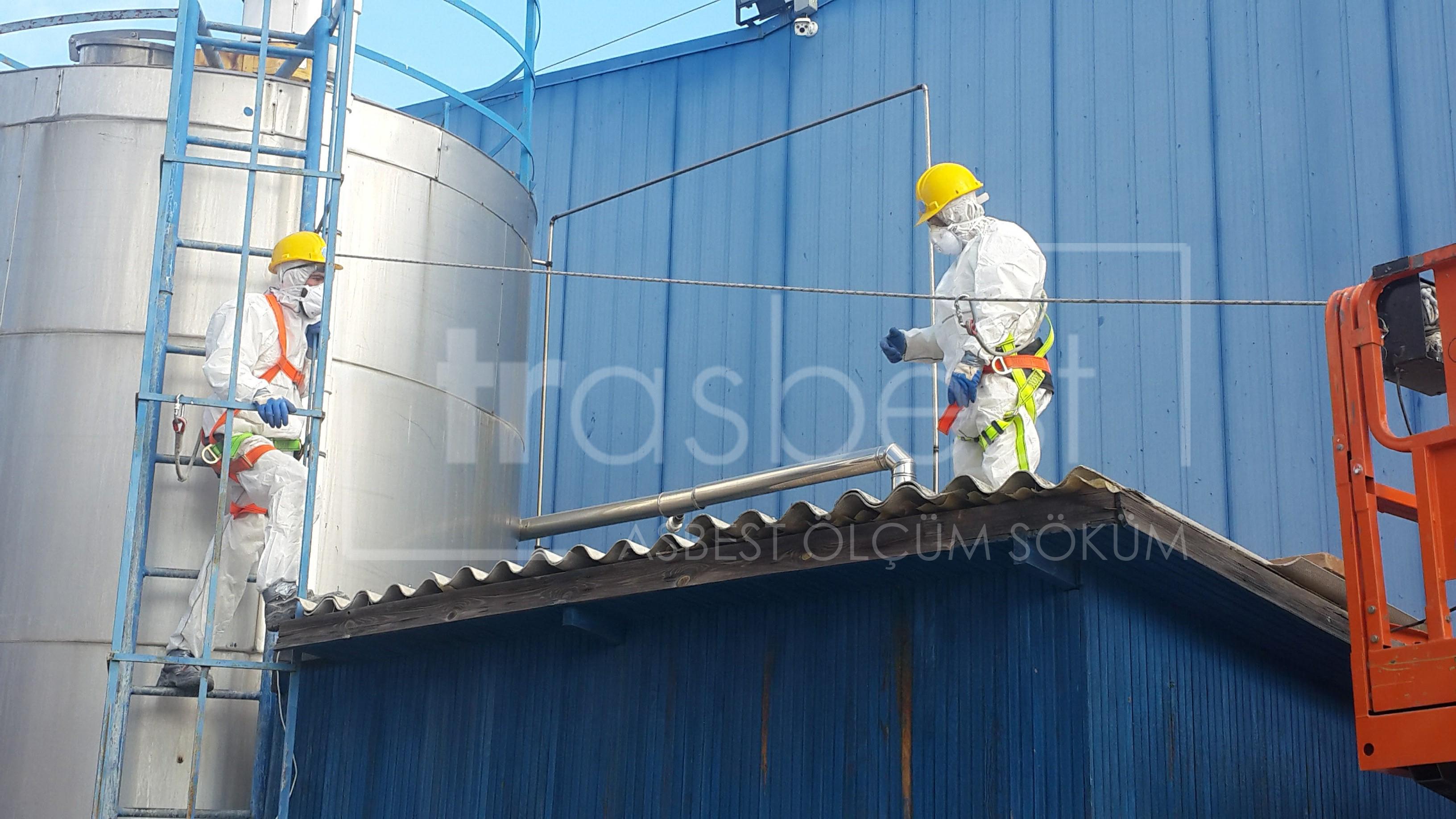 Asbestli Eternit Sökümü