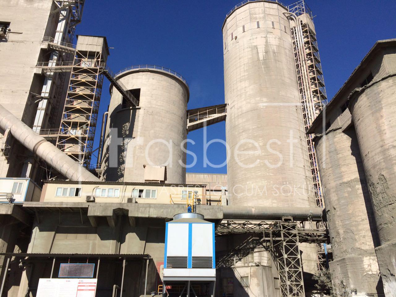 Çimento Fabrikası-Asbest Sökümü