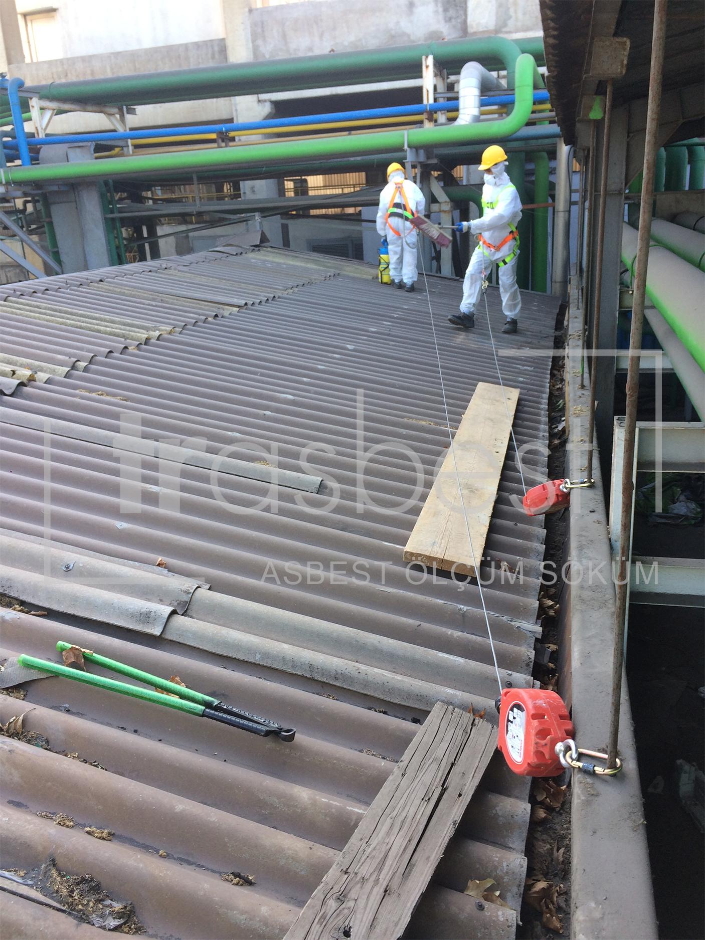 Çelik Fabrikası-Asbest Söküm Bertaraf