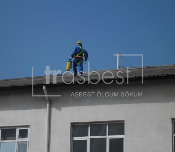 Asbest Çatı Söküm Öncesi Enkapsülasyon